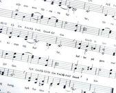 Sheet Music — Stock Photo
