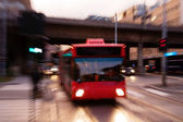 Speed Bus Abstract — Stock Photo