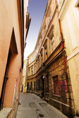 Quaint Street Prague — Stock Photo