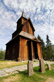 Old Stave Church — Stock Photo