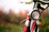 Retro Bike Detail — Stock Photo
