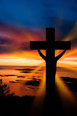 Easter Cross — Stock Photo