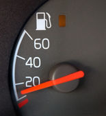 Gas Gauge — Stock Photo
