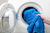 Washing Clothes — Stock Photo