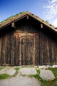 Norveç tarihi bina — Stok fotoğraf