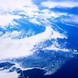 Aerial of Baffin Islands — 图库照片