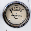 Oil Pressure Gauge — Stock Photo #5730396
