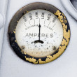 Retro Amp Gauge — Stock Photo