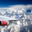 Airplane in Sky — Stock Photo #5730796