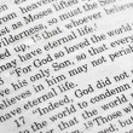 João 3:16 — Fotografia Stock  #5731054