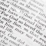 João 3:16 — Fotografia Stock  #5731065