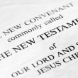 The New Testament - Foto Stock
