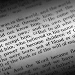 John 1:12 — Stock Photo #5731137