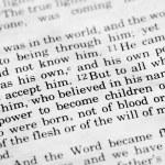 John 1:12 — Foto de Stock