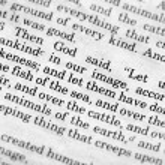 Genesis 1:26 — Stock Photo #5731163