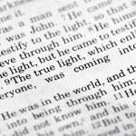 John 1:9 — Stok fotoğraf #5731171
