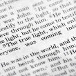 John 1:9 — Foto de Stock