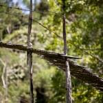 Hanging Bridge Suspension — Stock Photo