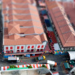Royalty-Free Stock Photo: Tilt Shift Chinatown