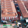 Tilt Shift Chinatown - Stock Photo
