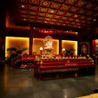 Buddhist Temple Interior - Foto de Stock