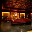 Buddhist Temple Interior - Stock Photo
