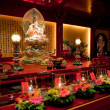 Buddhist Temple Interior - Foto Stock