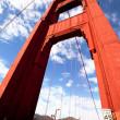 Gold Gate Bridge — Stock Photo