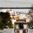 San francisco kabelbaan — Stockfoto