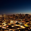 City at Night — Stockfoto