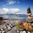 Rock Stacking Sculpture — Stock Photo