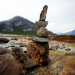 Rock Stack Sculpture - Stockfoto