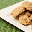 Plate of Cookies — Stockfoto