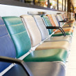 Airport Terminal Chair — Stock Photo