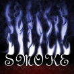 Постер, плакат: Smoke Text