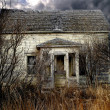 Stock Photo: Abandoned Farm House