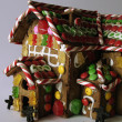 Ginger Bread House Detail - Stock Photo