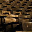 Lecture Hall Seating - Foto de Stock