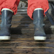 Rubber Boots - Foto Stock