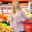 Stock Photo: Supermarket Portrait