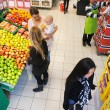 Busy Supermarket — Stock Photo