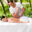 Outdoor Massage - Stok fotoraf
