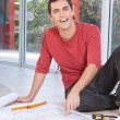 Portrait of happy smiling man — Stock Photo #5734644