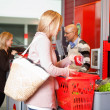 Customer shopping in supermarket — Stock Photo #5734676