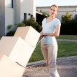 Moving Portrait — Stock Photo