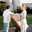 Moving Couple — Stock Photo #5734820
