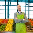 Grocery Store Owner — Stock Photo #5734860