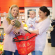 Mother Shopping with Friend — Stock Photo