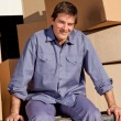 Mover Portrait — Stock Photo