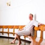Man in Wellness Spa — Stock Photo